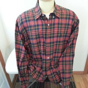 """Ralph Lauren """"Blake"""" light flannel shirt - mens LG"""